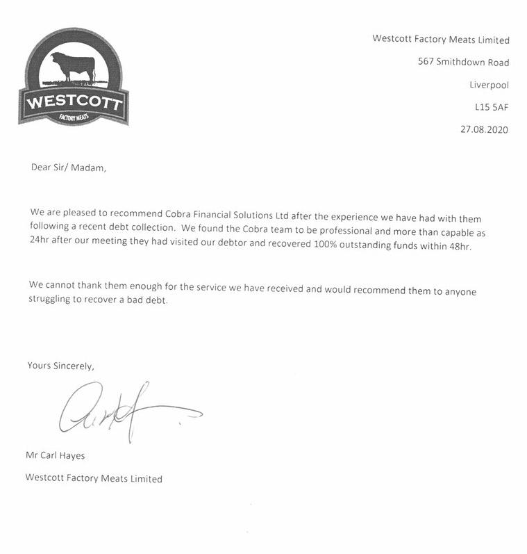 Westcott Factory Meats Limited